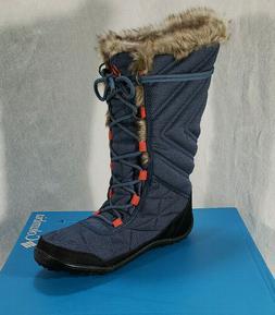 Columbia Women's Minx MID II Omni-Heat Snow Boot Blue Zinc S