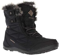 Columbia Women's Minx Shorty III Ankle Boot, Black, Pebble,