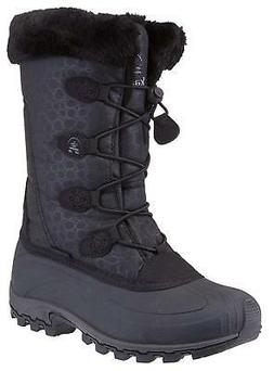 Kamik Women's Momentum Insulated Drawstring Winter Snow Boot