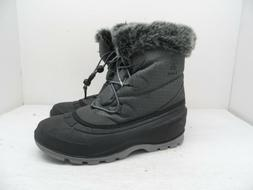 Kamik Women's Momentum Low Snow Boot Black/Gray Size 8M