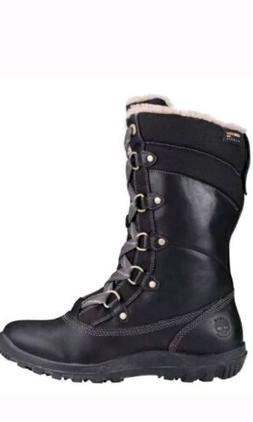 Women's Timberland Mount Hope Mid Waterproof Snow Boots Blac