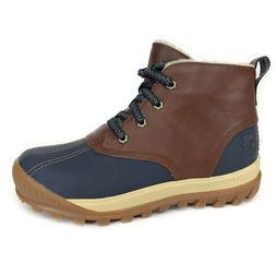 Timberland Women's MT Hayes Medium Brown Leather Waterproof
