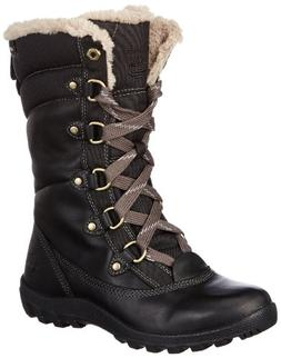 Timberland Women's MT Hope Mid L/F WP Boot,Black,8.5 M US