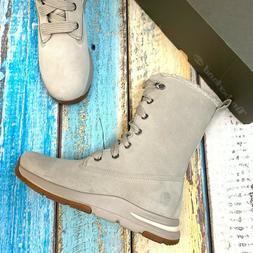 Timberland Women's Nubuck Suede Waterproof Snow Boots
