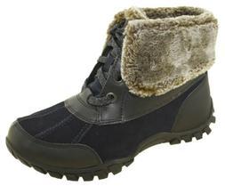 Women's Easy Spirit Nuria Snow Boots Navy 25020765
