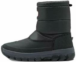 Hunter Women's Original Insulated Short Snow Boots Black