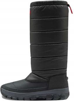 Hunter Women's Original Insulated Tall Snow Boots, Black, 9