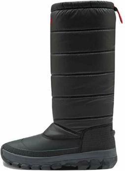 Hunter Women's Original Insulated Tall Snow Boots Black
