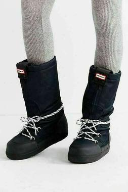Hunter Women's Original Snow Boot Platform Moon Boots Navy W