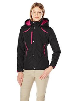 Arctix Women's Petite insulated Jacket, Black, Medium