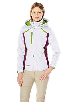 Arctix Women's Petite insulated Jacket, White, Small