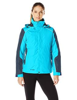 Arctix Women's Petite Muse Interchange 3-1 System Jacket, Aq