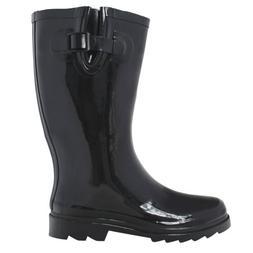 OwnShoe Women's Rain Snow Boots Assorted Colors Mid Calf