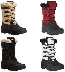 Kamik Women's Shellback Insulated Winter Boot Cold Weather S