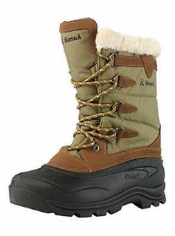Kamik Women's Shellback Midcalf Winter Snow Boot Fur Lined K