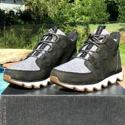 SOREL Women's Size 10 Kinetic Caribou Black/Gray Waterproof