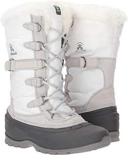 Kamik Women's SNOVALLEY2 Snow Boot, White, 9 Medium US