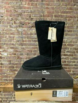 Women's Snow Boot Bearpaw Emma Tall 612W Black 7-9