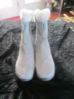 Women's SNOW BOOTS Winter Ice Maiden Slip ON PULL ON  7.5  7