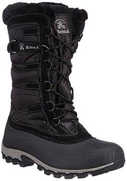 Kamik Women's Snowvalley Boot  US, Black BK2)