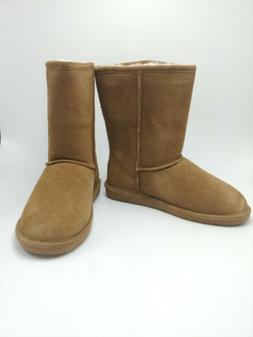 BEARPAW Womens Sz 9M Emma Short Snow Boot