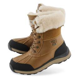 UGG Women's W Adirondack Boot III Snow, Chestnut, 9 M US