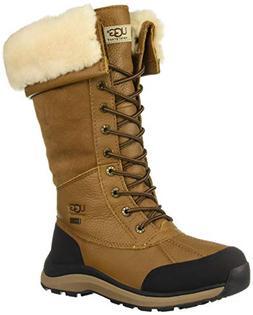 UGG Women's W Adirondack Boot Tall III Snow, Chestnut, 9 M U