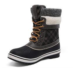 GLOBALWIN Women's Waterproof Winter Snow Boots size 9.5