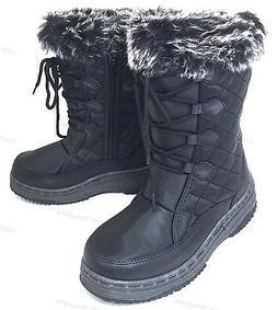 Women's Winter Boots Fur Lined Insulated Water Repellent Zip