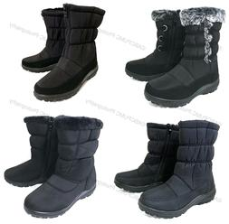women s winter boots fur lined insulated