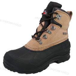 Women's Winter Boots Leather Insulated Waterproof Hiking Sno
