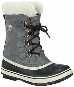 Sorel Women's Winter Carnival Boot,Pewter/Black,7.5 M US