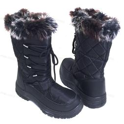 Brand New Women's Winter Snow Boots Fur Zipper Water Repelle