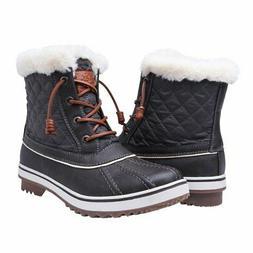 GLOBALWIN Women's1632-2GRY Snow Boots SZ-7.5M US Grey 7.5 M