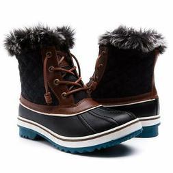 GLOBALWIN Women's1632-4 Snow Boots SZ-9M US Brown