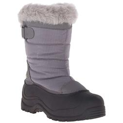 Women Snow Boots Insulated Winter Boots Grey -25F Northside
