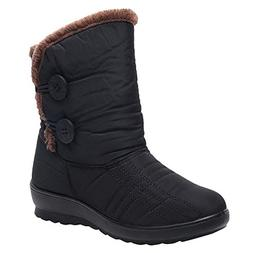 COPPEN Women Snow Boots Winter Waterproof Short Footwear War