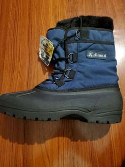 KAMIK Women Sz 10 Waterproof Snow Winter Boot Brooklyn Balti