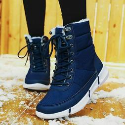 Women Winter Boots For Ladies Waterproof Snow Shoes With Plu