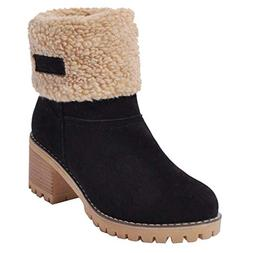 Susanny Womens Ankle Snow Boots Winter Warm Fur Booties Chun