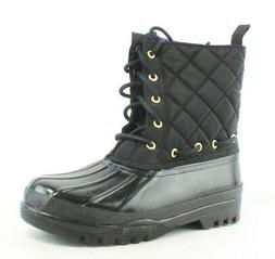 Sperry Top Sider Womens Black Snow Boots Size 7