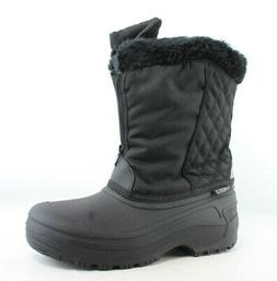 Tundra Womens Black Snow Boots Size 8