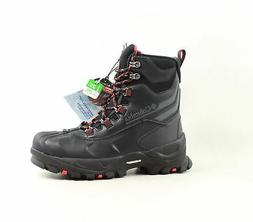 Columbia Womens Bugaboot Black, Sunset Red Snow Boots Size 7