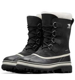 Womens SOREL Caribou Snow Waterproof Winter Fur Rain Boot Bl