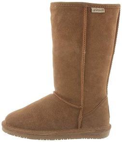 Bearpaw Womens Emma Tall 12-Inch Suede Sheepskin Boot, Hicko