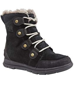 Sorel Womens Explorer Joan Snow Suede Rain Winter Ankle Wate