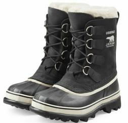 Sorel Womens/Mens Black  Caribou Rain Winter Snow Waterproof