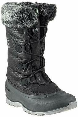 Kamik Womens Momentum 2 Snow Winter Boots NK2178 Black Size