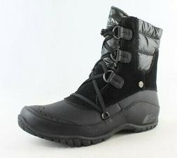 The North Face Womens Nuptse Purna Shorty Black Snow Boots S