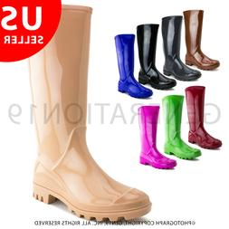 Womens Outdoor Rain Gardening Snow Boots RB010